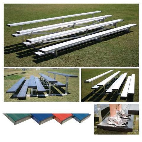 Powder Coated Low Rise Bleachers