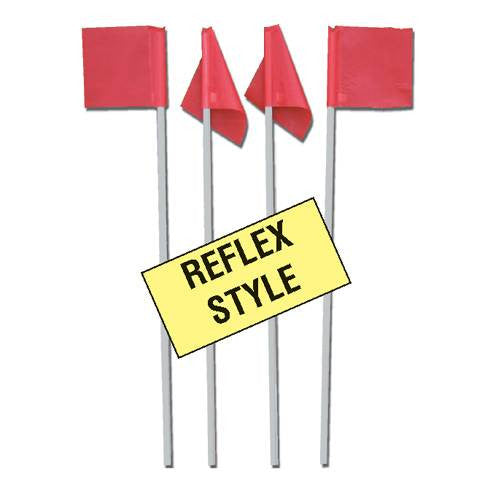 Markers Inc. Reflex Soccer Corner Flags-Soccer Command