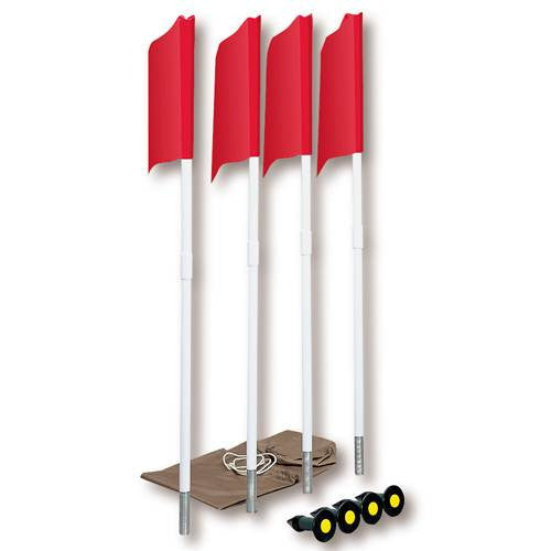 Markers Inc. Spring Loaded Soccer Corner Flags-Soccer Command