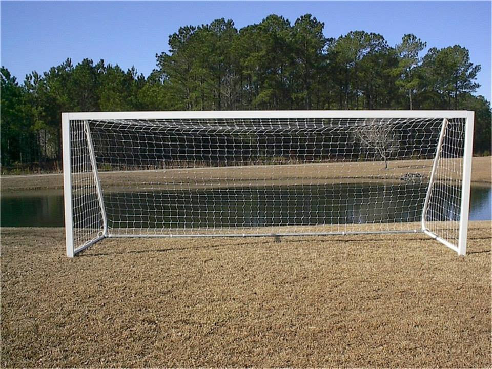 6.5' x 18.5'  Pevo CastLite Club Series Soccer Goals (pair) - Soccer Source - Your Source for Quality Soccer Equipment