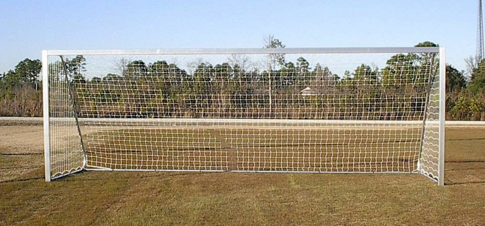 6.5' x 18.5'  Pevo CastLite Value Club Series Soccer Goals (pair) - Soccer Source - Your Source for Quality Soccer Equipment