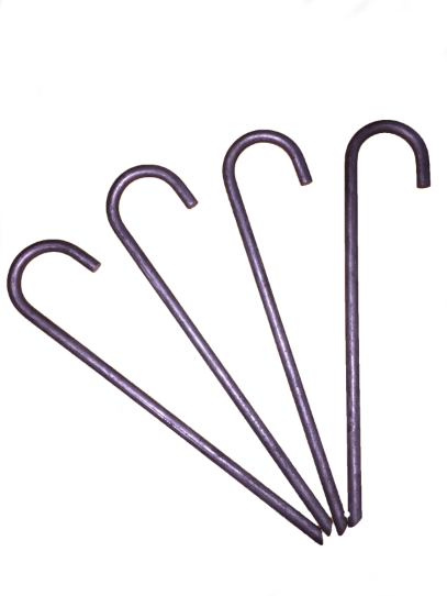 Pevo J Stake Soccer Goal Anchors-Equipment-Soccer Source