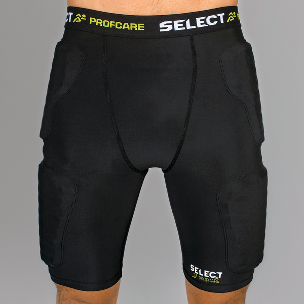 Select Compression Shorts With Protection-GK-Soccer Source