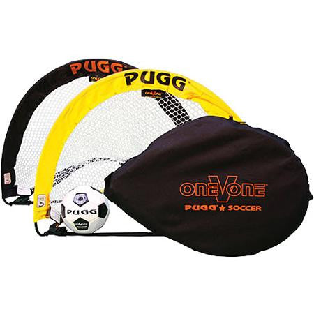 Pugg One v One 2.5 Footer Pop-Up Goals with Ball - Soccer Source