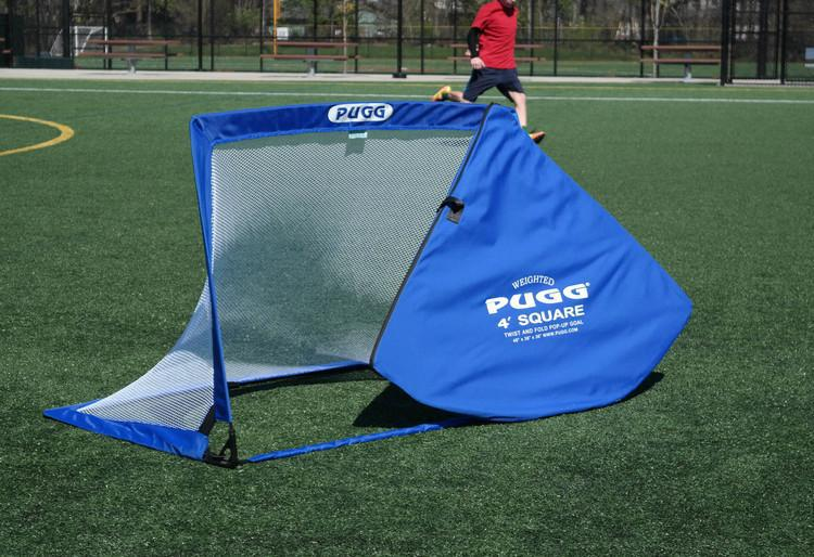 Pugg Ultra U90 4 Footer Square Pop Up Portable Soccer Goal   Soccer Source