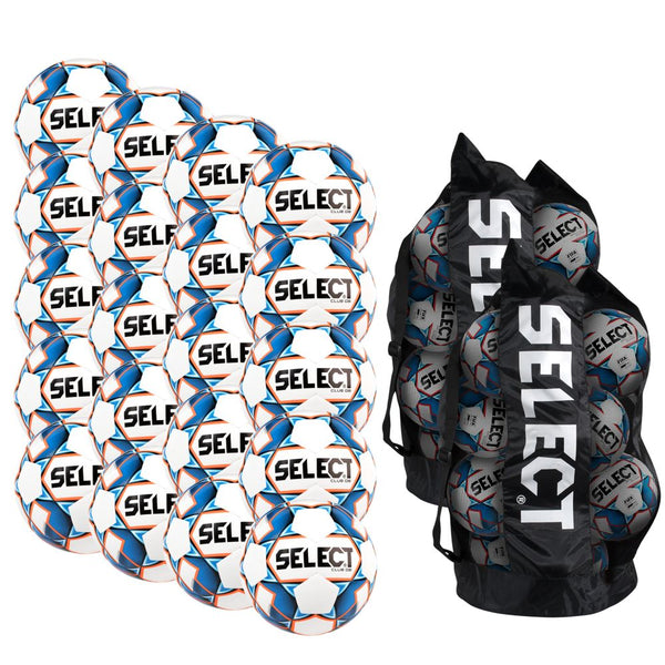 Select Club DB v20 Soccer Ball Bundle (20-pack with 2 ball bags)-Equipment-Soccer Source