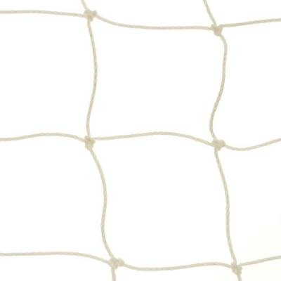 6.5' x 12' Replacement Soccer Goal Net - 4 mm Twisted Knotted PE (pair)-Equipment-Soccer Source