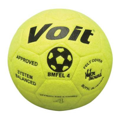 Voit Indoor Felt Soccer Ball-Soccer Command