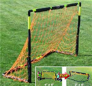 6' x 9' Flip Goal by Soccer Innovations - Soccer Source - Your Source for Quality Soccer Equipment