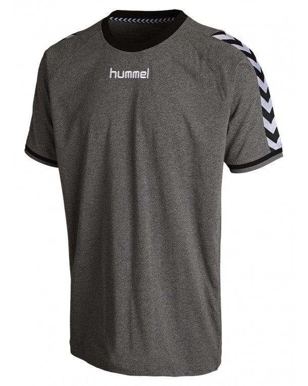 hummel Stay Authentic Cotton Tee (adult)-Soccer Command