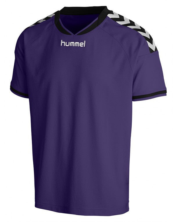 hummel Stay Authentic SS Soccer Jersey (youth)-Apparel-Soccer Source