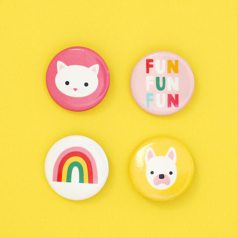 Sunny Button Pack