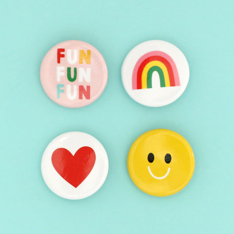 Fun Button Pack