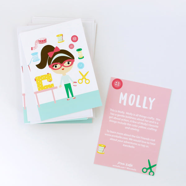 """Crafty"" Molly Collector Card"