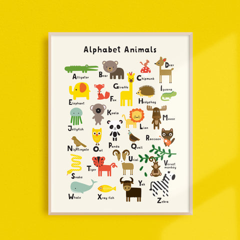 """NEW"" Alphabet Animals"
