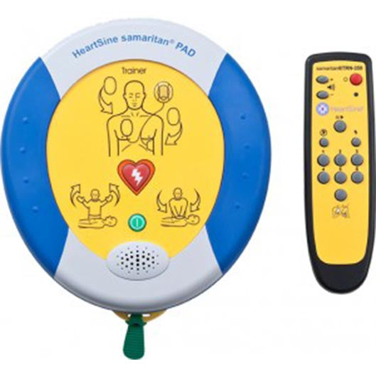 HeartSine samaritan PAD 500P Trainer with CPR Training Function and Remote Control
