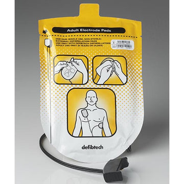 Adult Defibrillation Pad Package for Lifeline AED