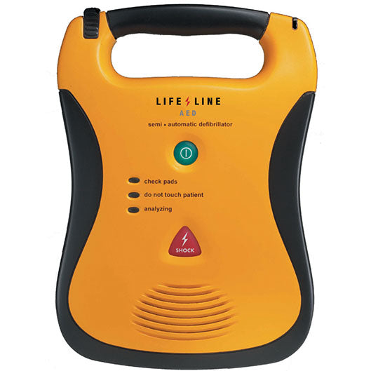 Lifeline AED Semi-Automated - 7 Year Battery Pack Option