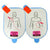 Adult Training Pad Package for Lifeline AED (1 set)