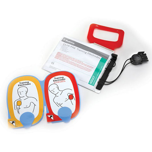 Adult AED QUIK-PAK Training Electrode Set