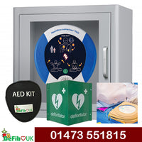 DeFib UK Inside 'Start a Heart' Kit - HeartSine 500P