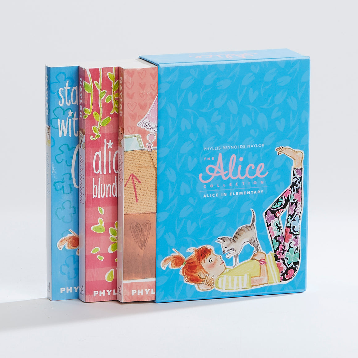 The Alice Collection; Alice in Elementary: Set includes Starting with Alice, Alice in Blunderland, and Lovingly Alice