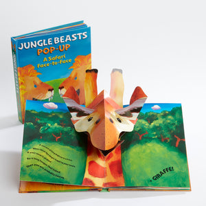 Jungle Beasts Pop Up Book