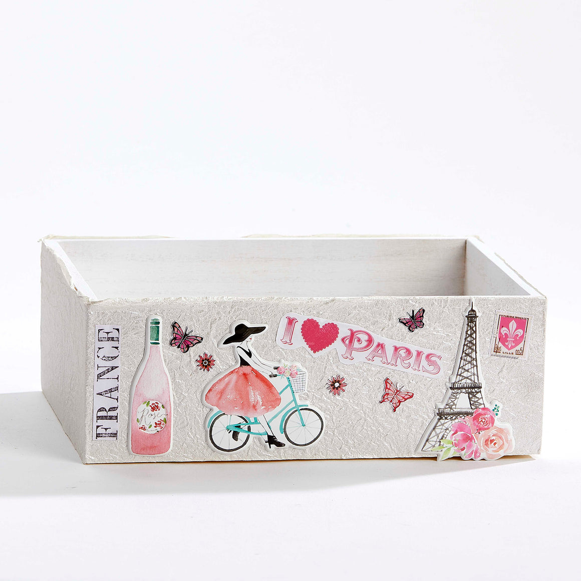 I Love Paris Keepsake Box