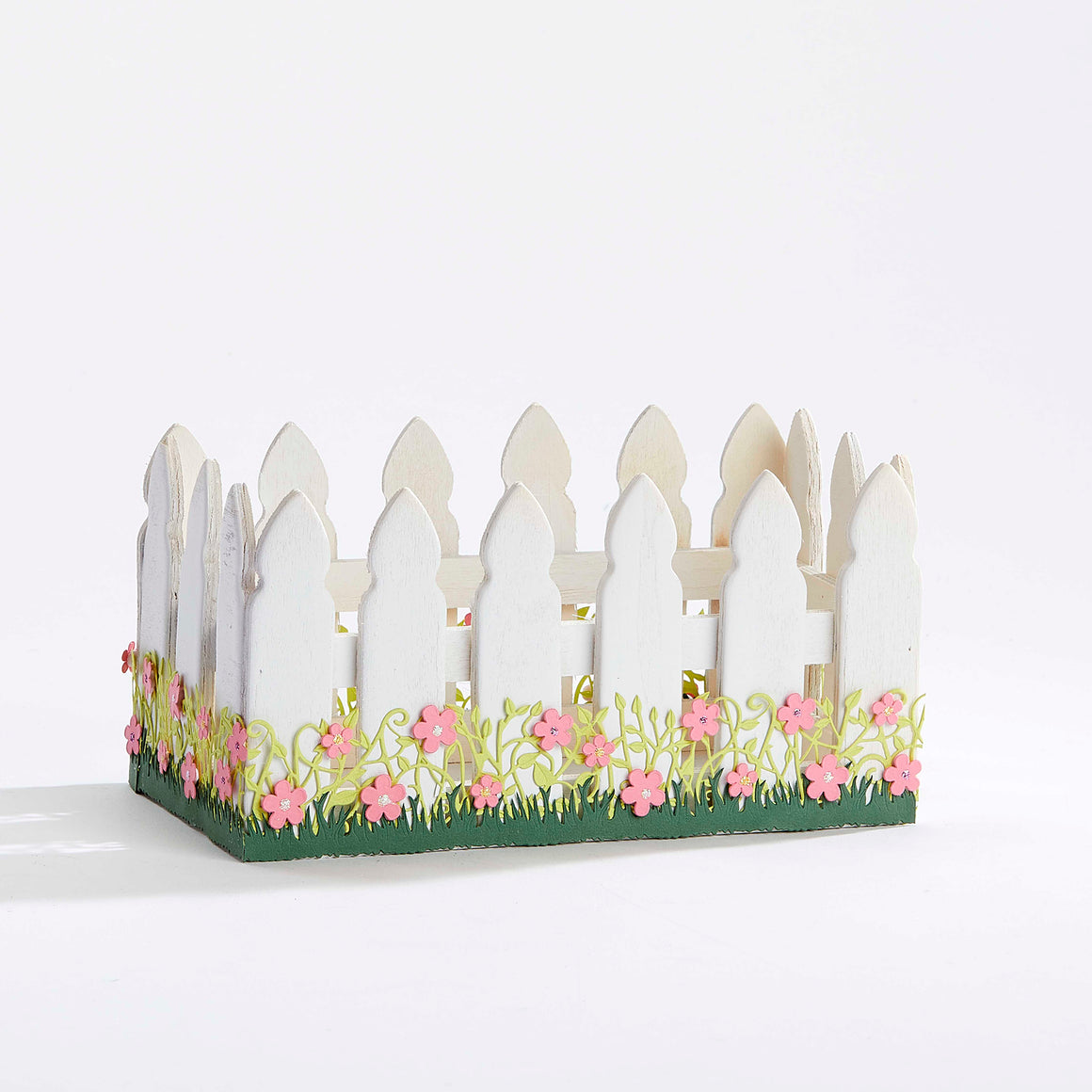 Garden Fence Keepsake Box