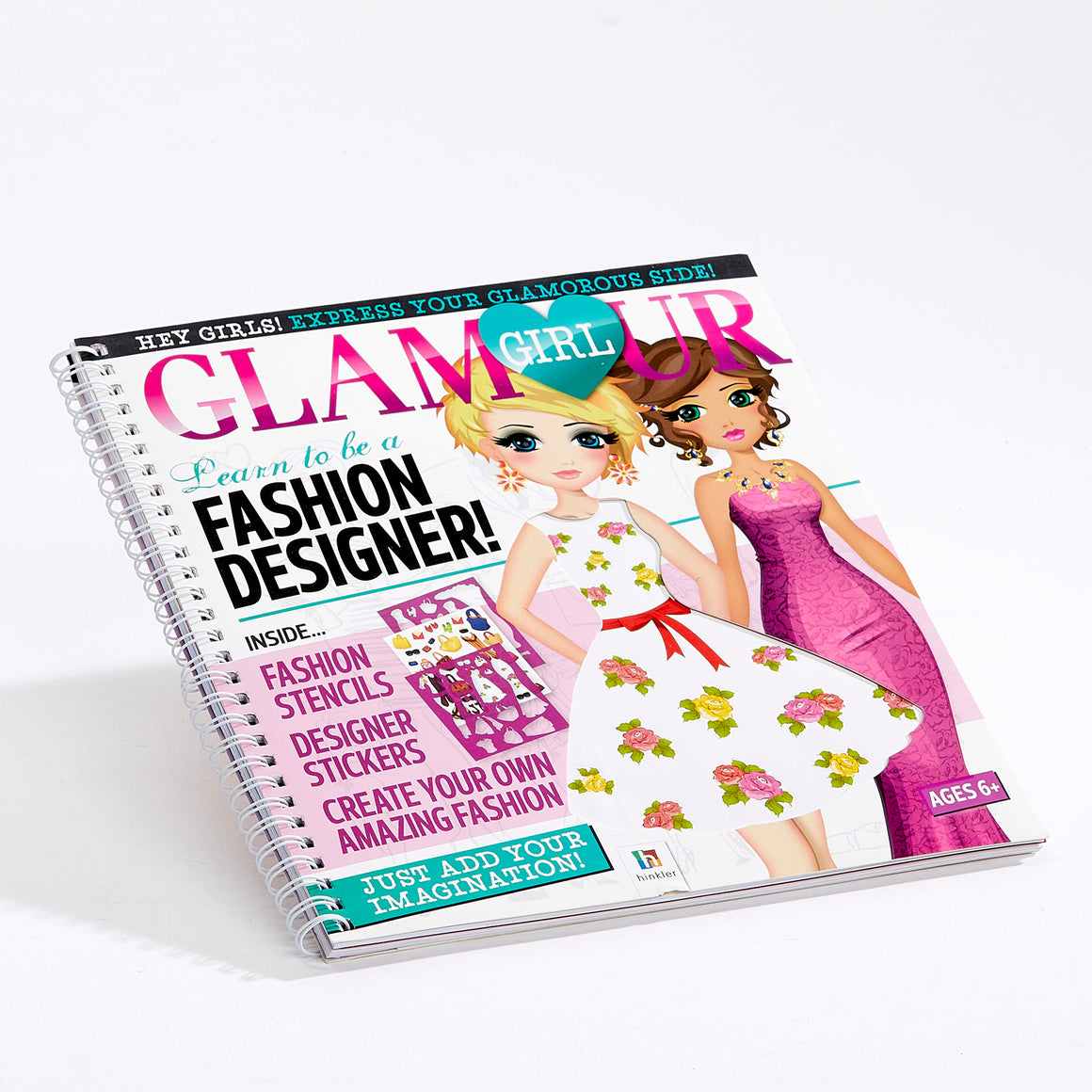 Glamour Girl Learn to be a Fashion Designer