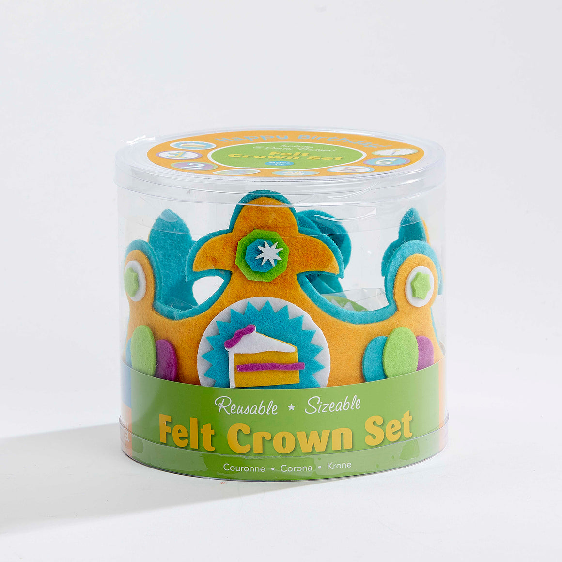 Felt Crown Set