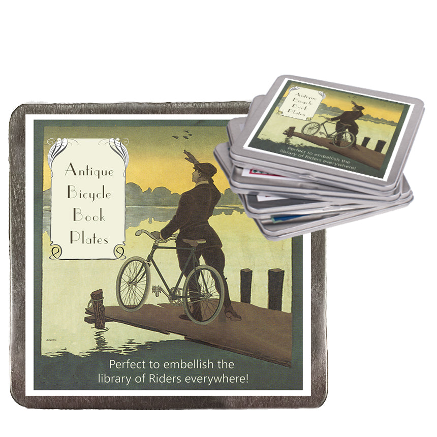 Antique Bicycle Book Plates