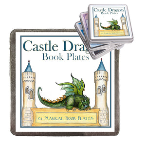 Castle Dragon Book Plates