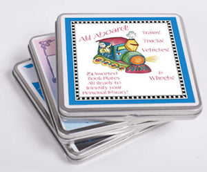 All Aboard Choo Choo Book Plates