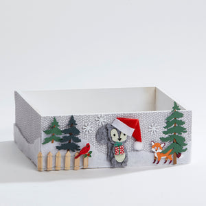 Christmas Squirrel Keepsake Box