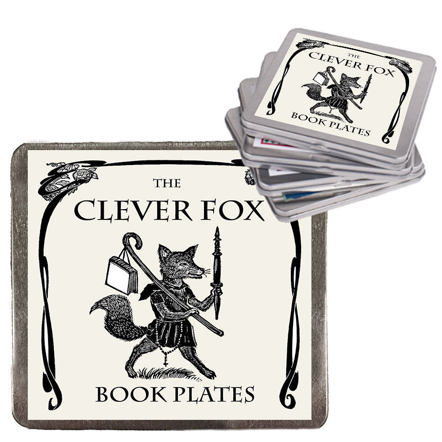 Clever Fox Book Plates