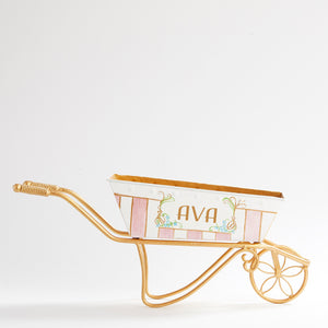 French Flower Cart