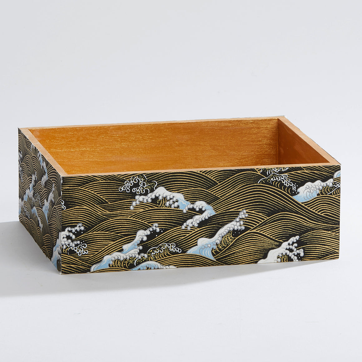Japanese Waves Keepsake Box
