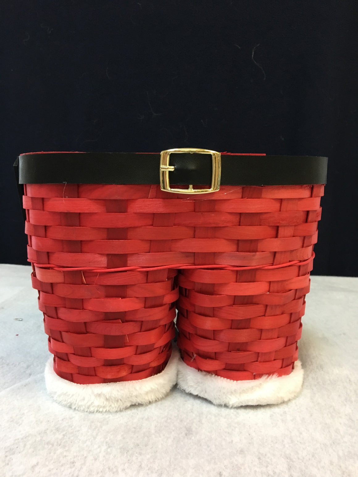 Authentic Santa Pants basket