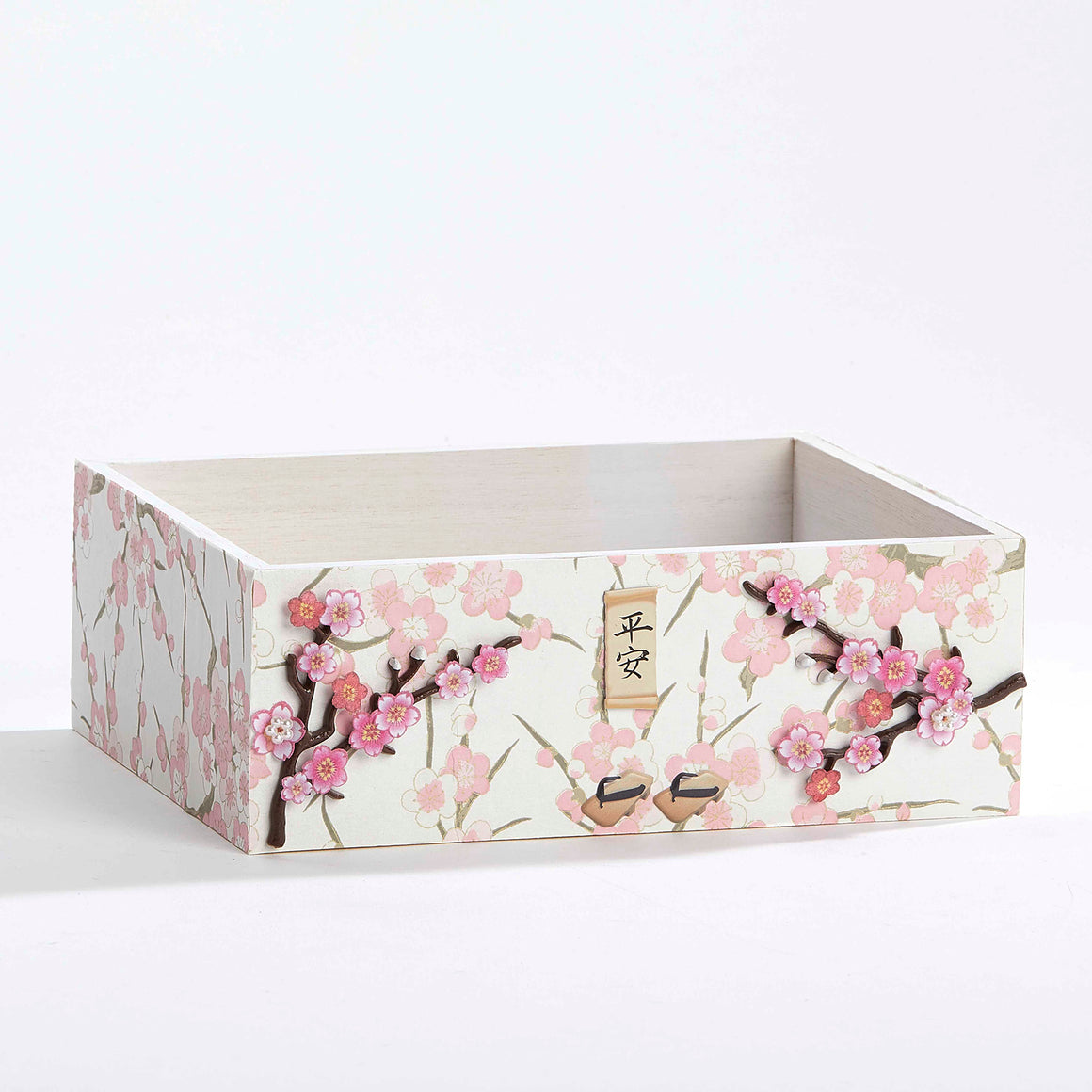 Japanese Cherry Blossoms Keepsake Box