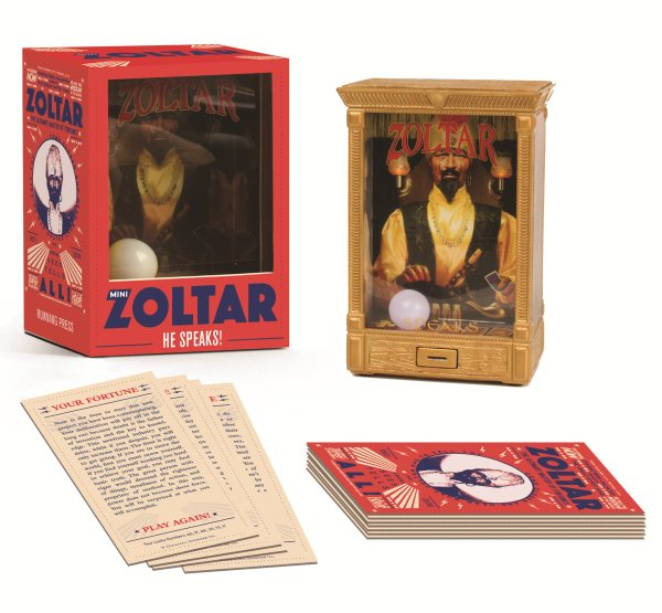 Mini Zoltar: He Speaks!
