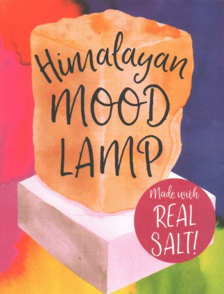 Himalayan Mood Lamp: Made with Real Salt!