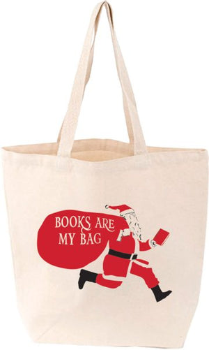 Santa's Book Bag Tote