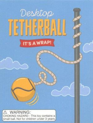 Desktop Tetherball: It's a Wrap