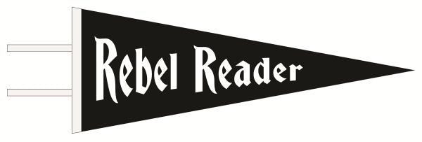 Rebel Reader Pennant