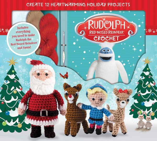 Rudolph the Red Nose Reindeer Crochet Set