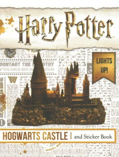 Harry Potter Hogwarts Castle + Sticker Book: Lights Up!