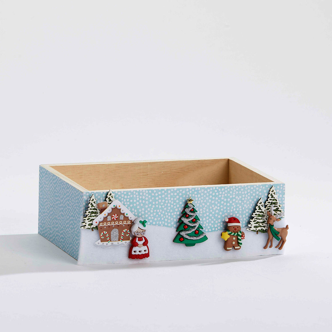 Mrs. Claus' House Keepsake Box