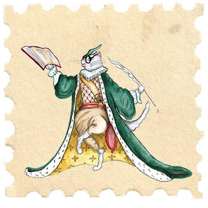 Royal Cat Stamps