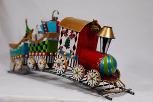 Christmas Jester Train